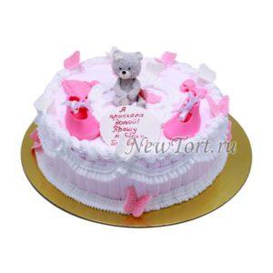 Торт без мастики на выписку