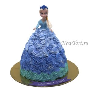 Торт кукла без мастики