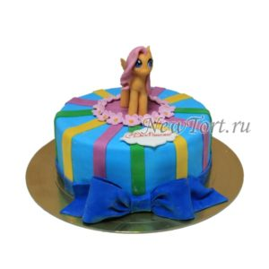 Торт пони Флаттершай