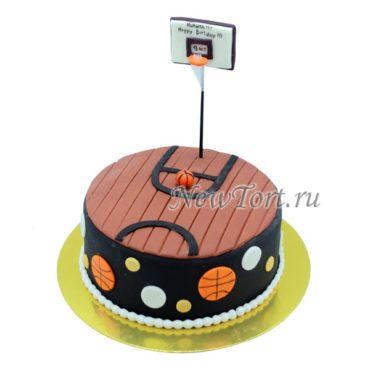 Торт баскетбольная стойка