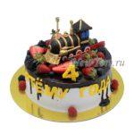 Торт - Паровоз и ягоды