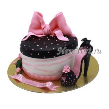 Торт Моднице с туфелькой