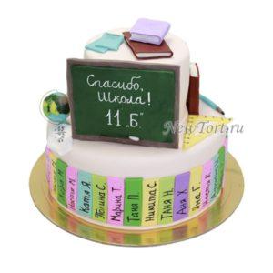 Торт на выпускной с мастикой