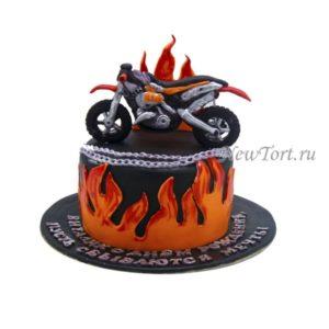 Огненный Кросс Байк
