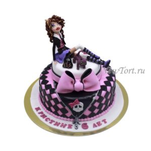 Торт кукла Монстр Хай