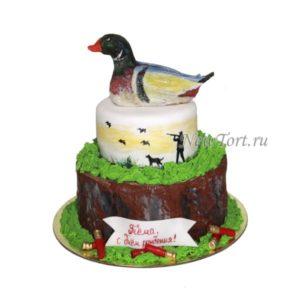 Торт с уткой