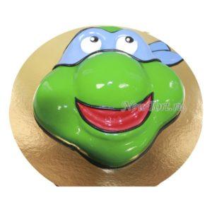 Торт черепашки ниндзя 3D