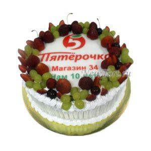 Торт для магазина Пятерочка