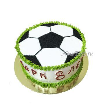 Торт футбольный мяч без мастики