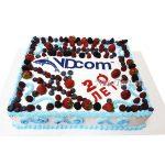 Торт на юбилей компании
