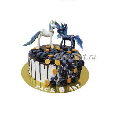 Торт принцессы Луна и Селестия