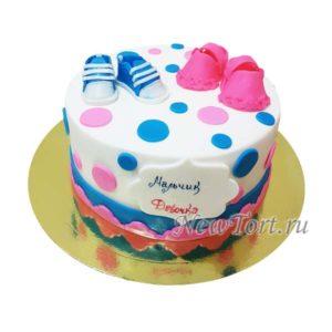 Торт мальчик, девочка