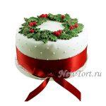 Новогодний Торт Ягодка