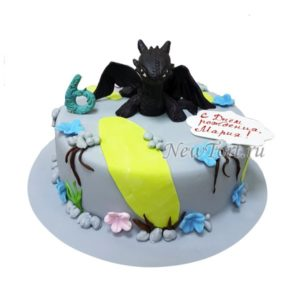 Торт беззубик