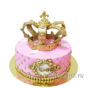 Торт с короной 2