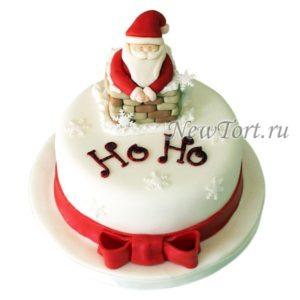 Новогодний Торт Дедушка Мороз