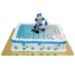 Торт тигр хоккеист