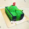 Торт танка со сливками