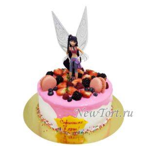Торт фея Муза