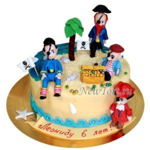 Торт пиратский клад