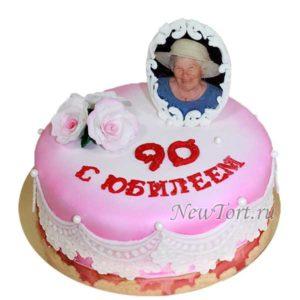 Торт на юбилей бабушки