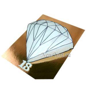 Торт бриллиант