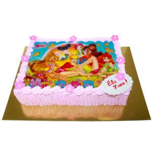 Торт феи Винкс на картинке