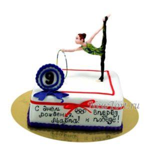 Торт с гимнасткой