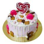 Торт макарунсы и сладости