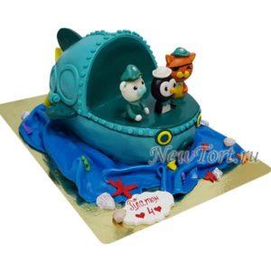 Торт Подводная лодка капитана Барнаклса