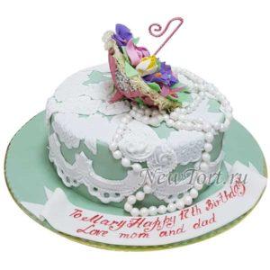 Торт с зонтиком
