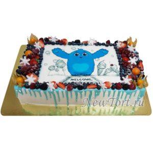 Корпоративный торт welcome