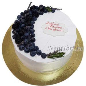 Ягодный торт для мамы
