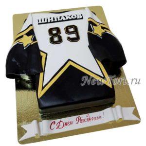 Торт форма хоккеиста
