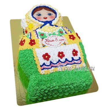 Торт матрешка