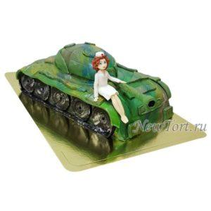 Торт медсестра на танке