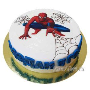 Торт Человек Паук  на картинке