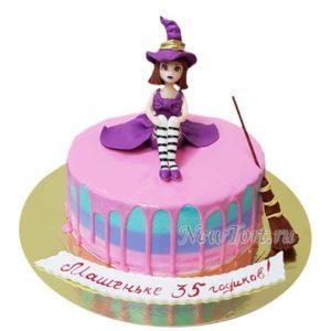 Торт Алиса без мастики