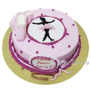 Торт маленькая балерина