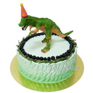 Торт тираннозавр без мастики