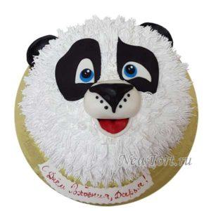 Торт панда без мастики