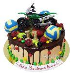 Торт с минибайком