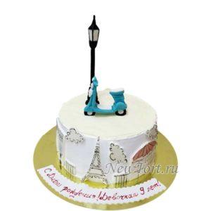 Торт парижский фонарик