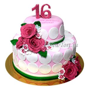 Торт на шестнадцатилетие