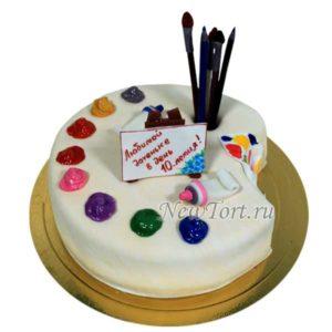 Торт худажнику