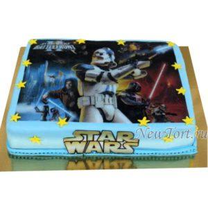 Торт Звездные войны на картинке