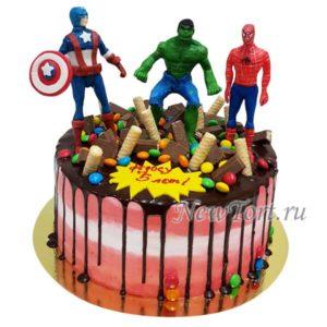 Торт Халк и супергерои