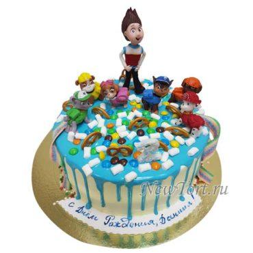 Торт щенячий патруль все герои