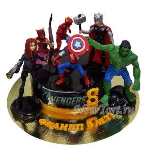 Торт Марвел все супергерои