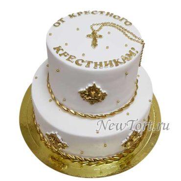 Большой торт от крестного